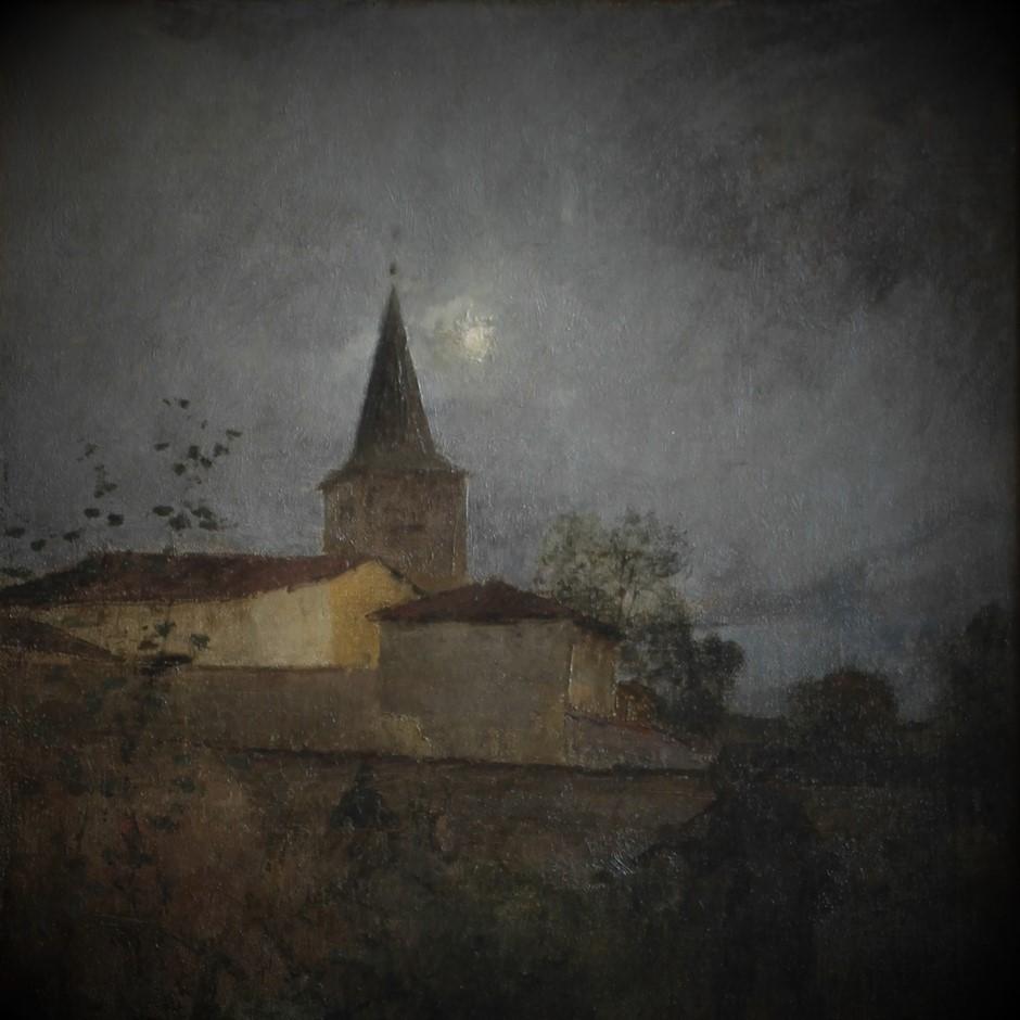 """""""Clair de Lune à Damvillers"""", J. Bastien-Lepage (Détail)"""
