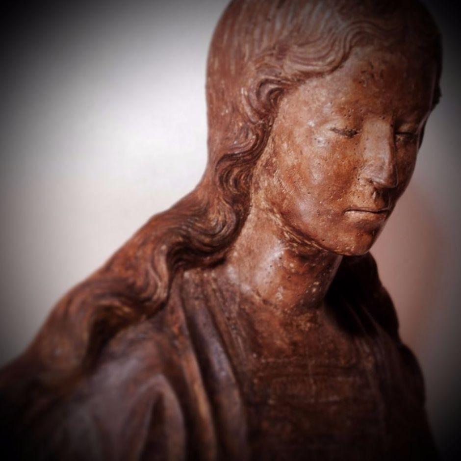 Buste de Vierge ou de sainte