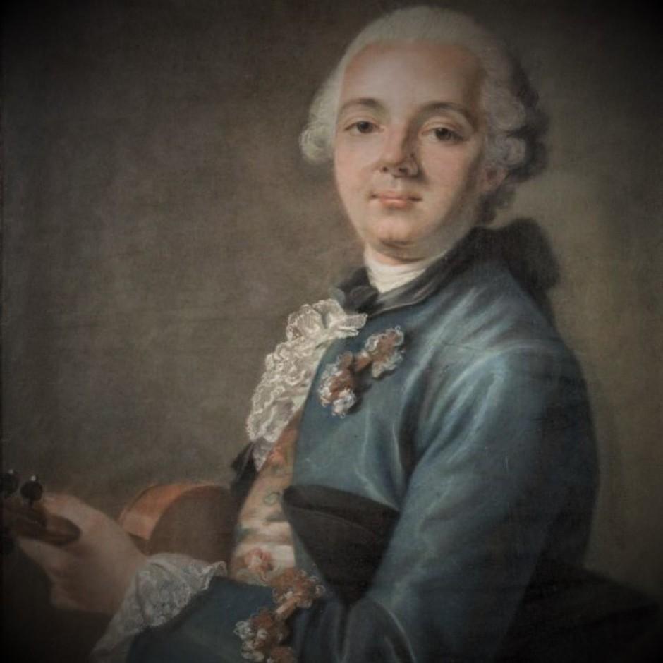 Portrait d'un violoniste (détail)