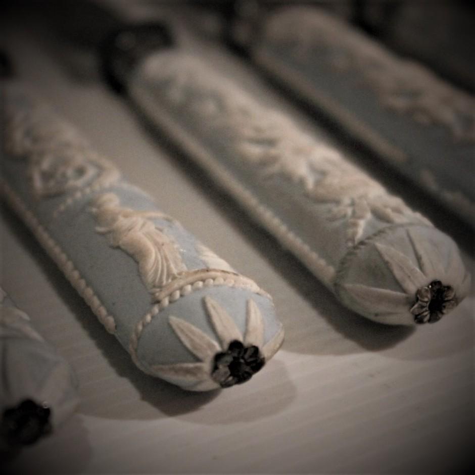 Couteaux du XVIIIe siècle, Wedgwood