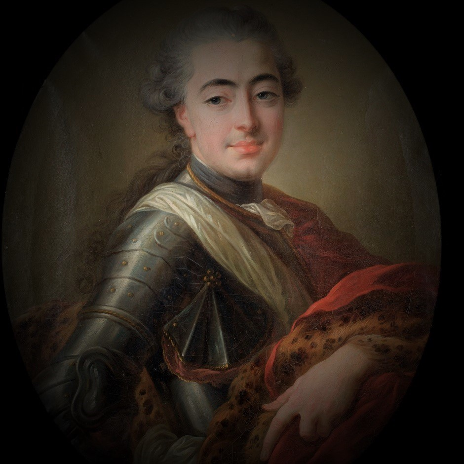 Portrait of the Count d'Orsay (1748-1809) (1748-1809)