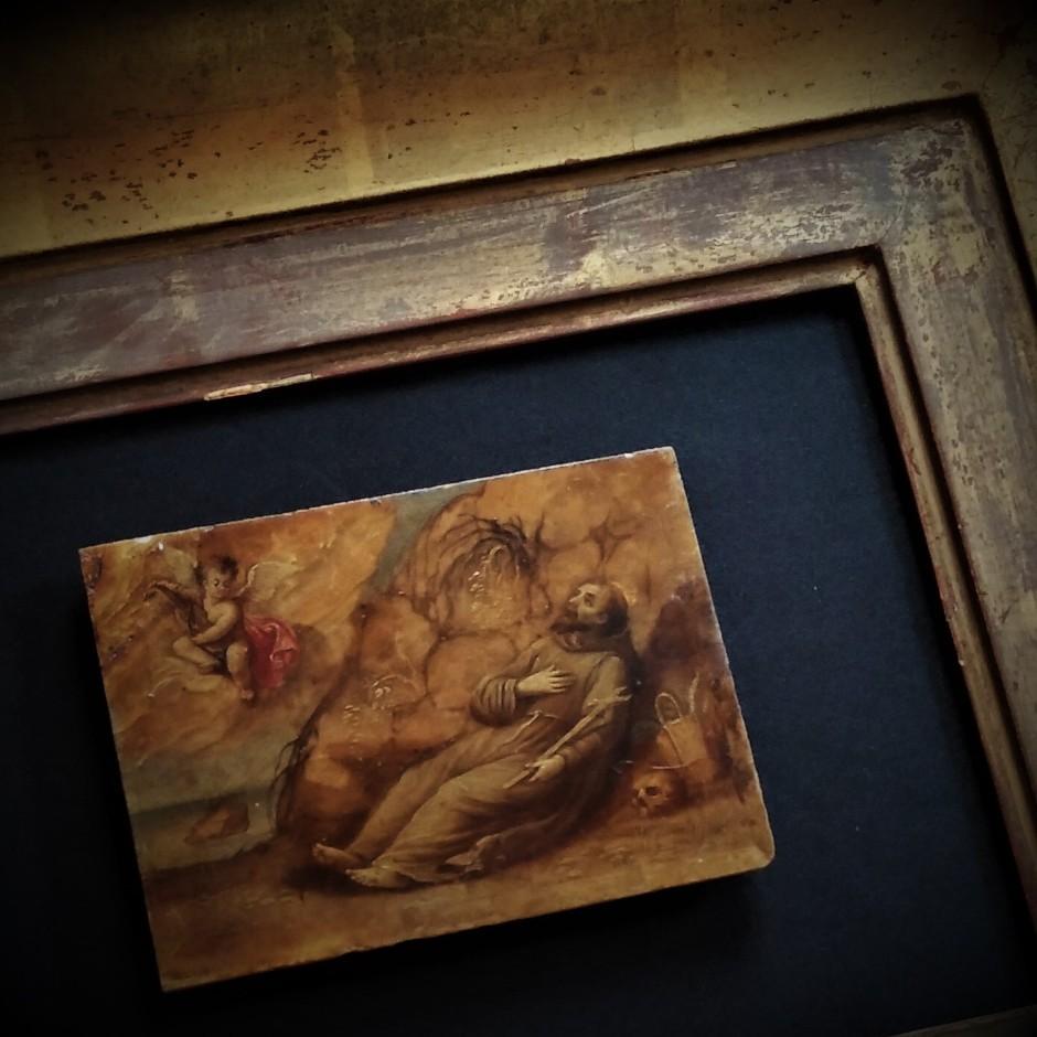 Peinture sur albâtre, Italie, XVIIe siècle