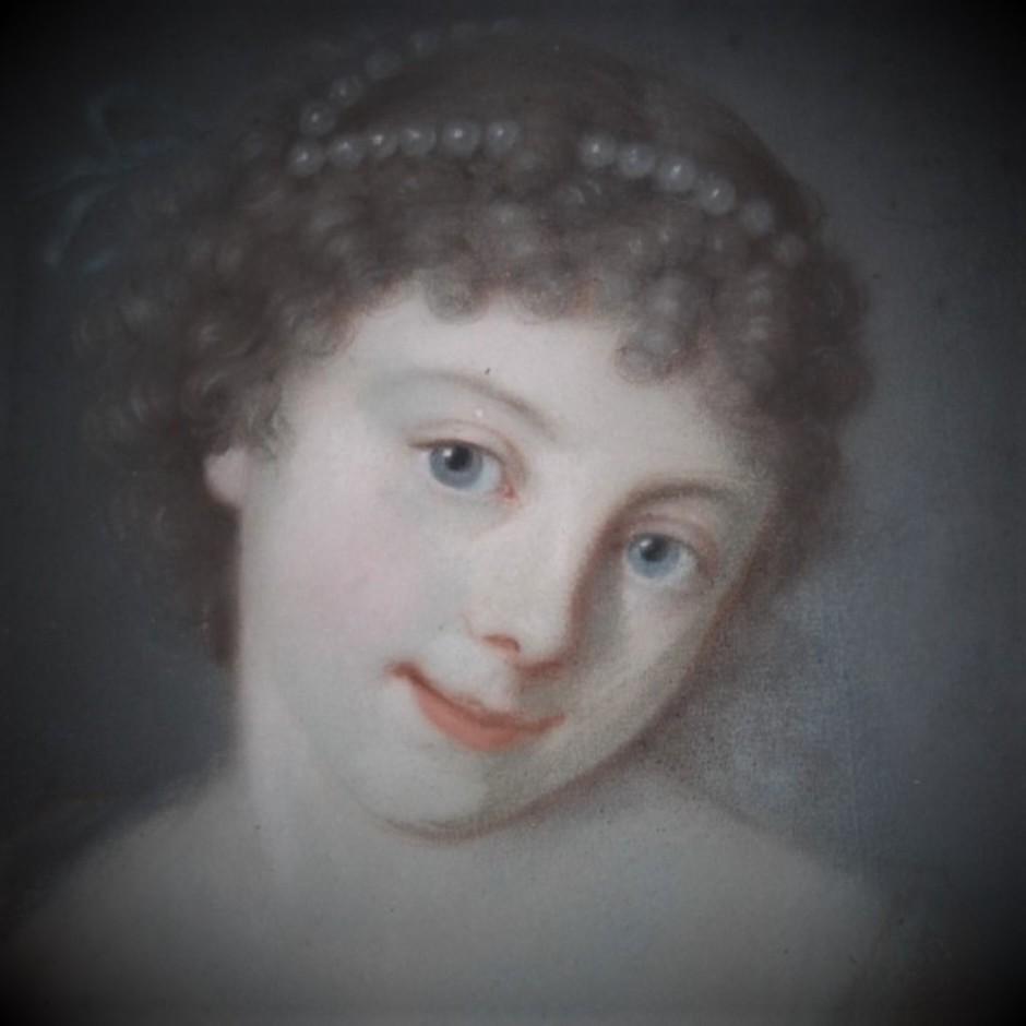 """Jeune fille aux perles"""