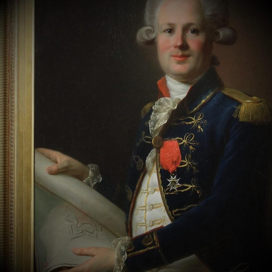 Portrait d'Officier de Marine sous Louis XVI