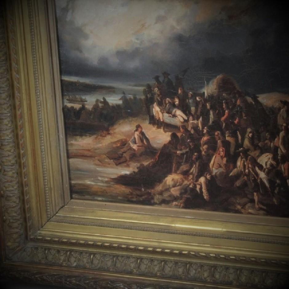 « Le Passage de la Loire par l'Armée Vendéenne à Saint Florent »