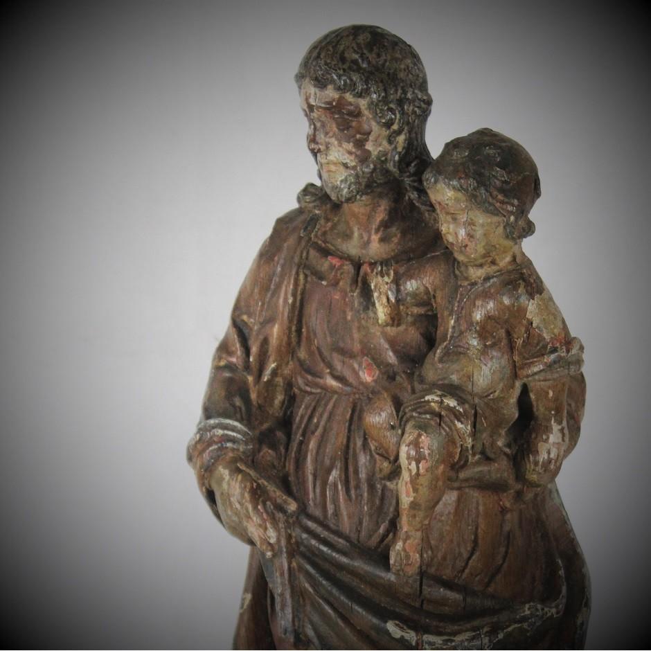 """""""Saint Joseph portant l'Enfant Jésus"""""""